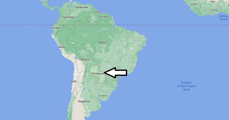 Où se trouve Paraguay
