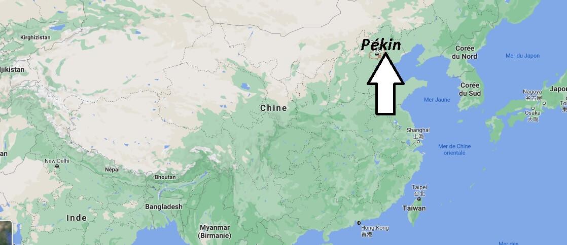 Où se trouve Pékin