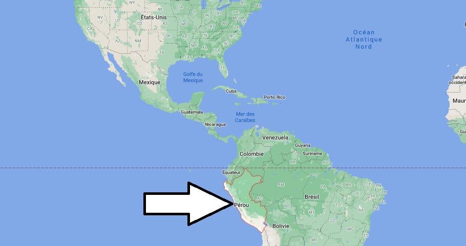 Où se trouve Pérou