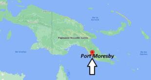 Où se trouve Port Moresby