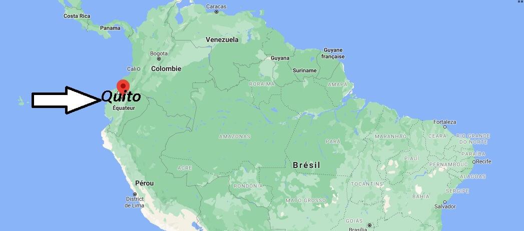 Où se trouve Quito