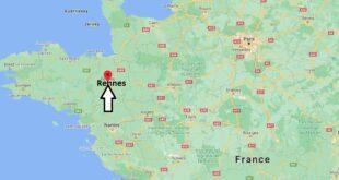 Où se trouve Rennes