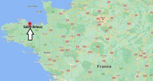 Où se trouve Saint-Brieuc