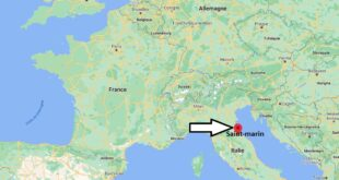Où se trouve Saint-marin