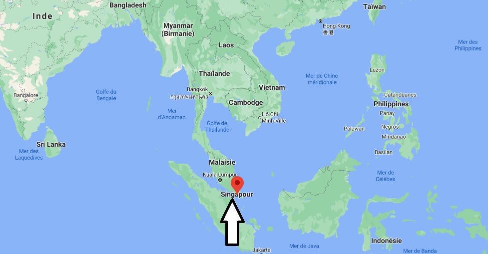Où se trouve Singapour