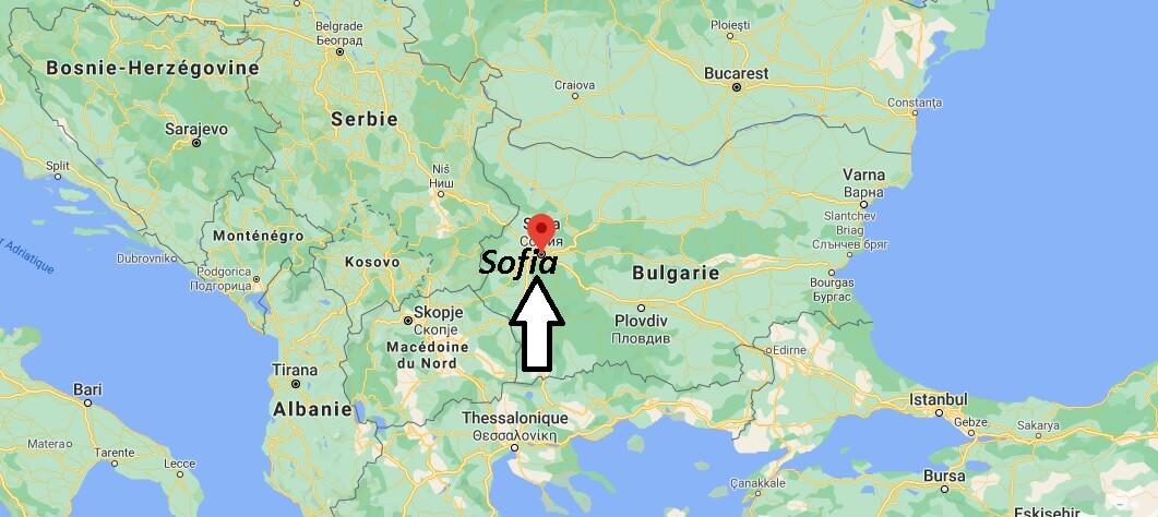 Où se trouve Sofia
