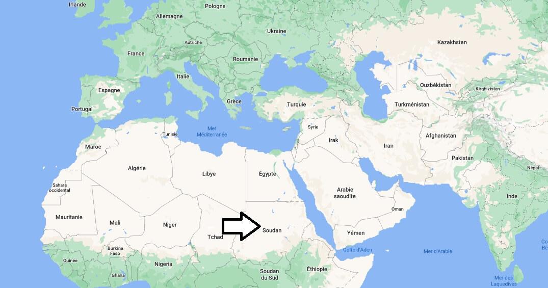 Où se trouve Soudan