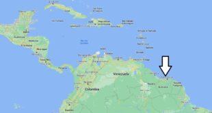 Où se trouve Surinam