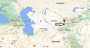 Où se trouve Tachkent