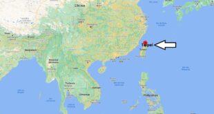 Où se trouve Taipei