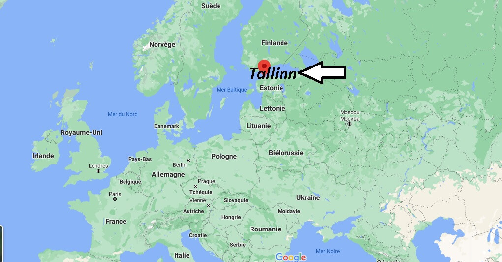 Où se trouve Tallinn