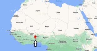 Où se trouve Togo
