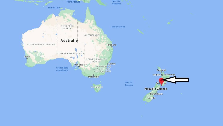 Où se trouve Wellington