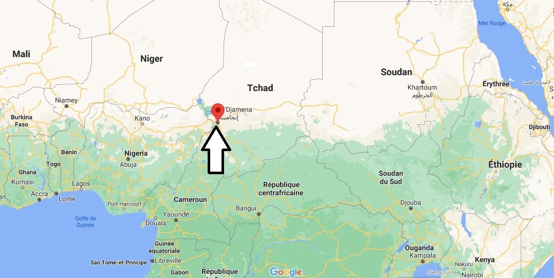 Où se trouve de N-Djamena