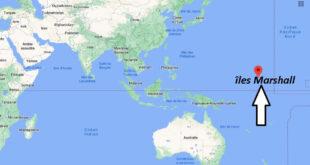 Où se trouve îles Marshall