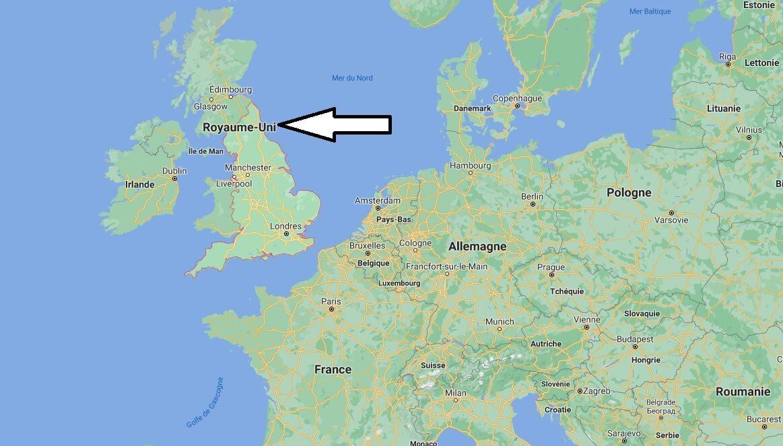 Où se trouve l-Angleterre