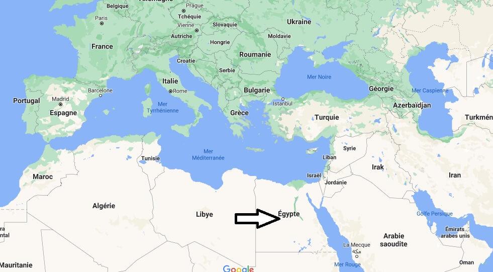 Où se trouve l-Egypte