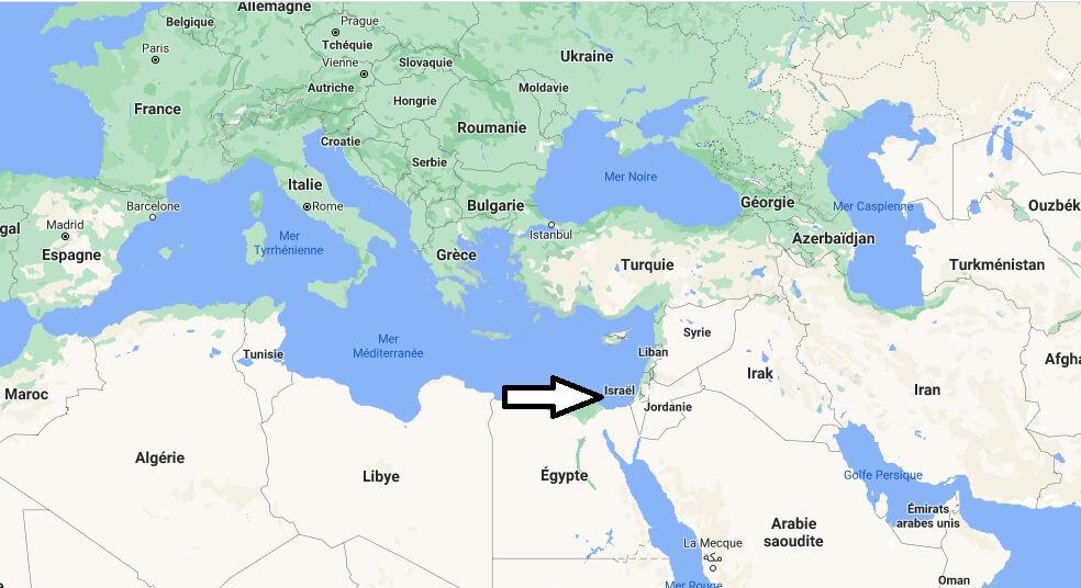 Où se trouve l-Israël