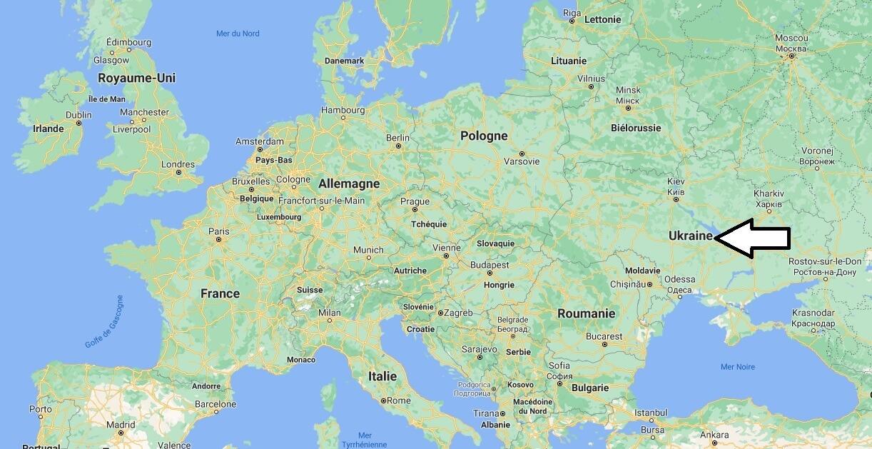 Où se trouve l-Ukraine