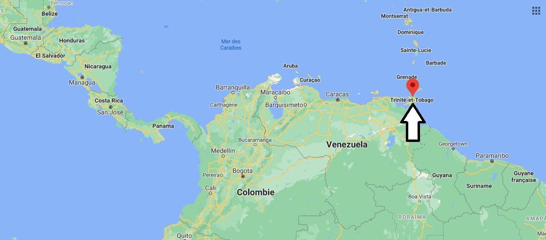 Où se trouve l-île de Trinidad
