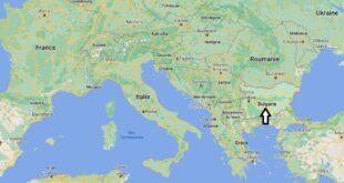 Où se trouve la Bulgarie