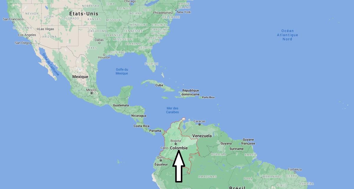 Où se trouve la Colombie