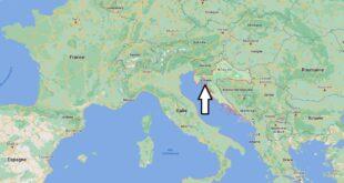 Où se trouve la Croatie