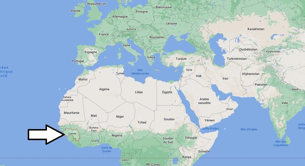 Où se trouve la Guinée
