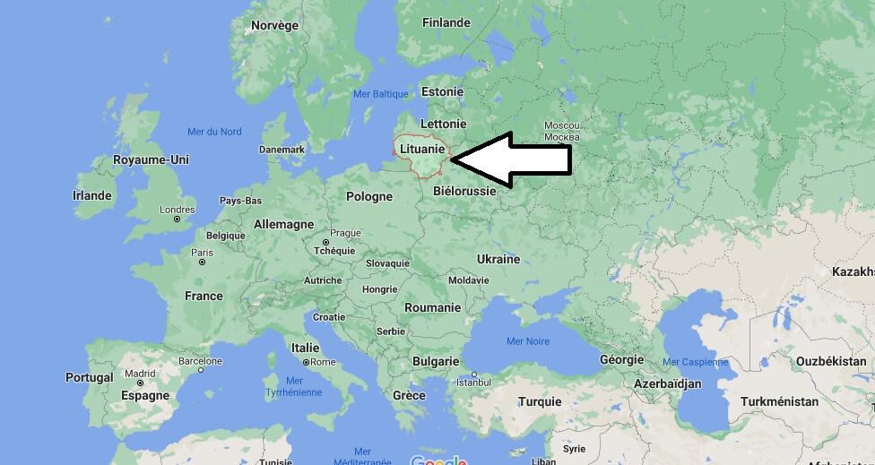 Où se trouve la Lituanie