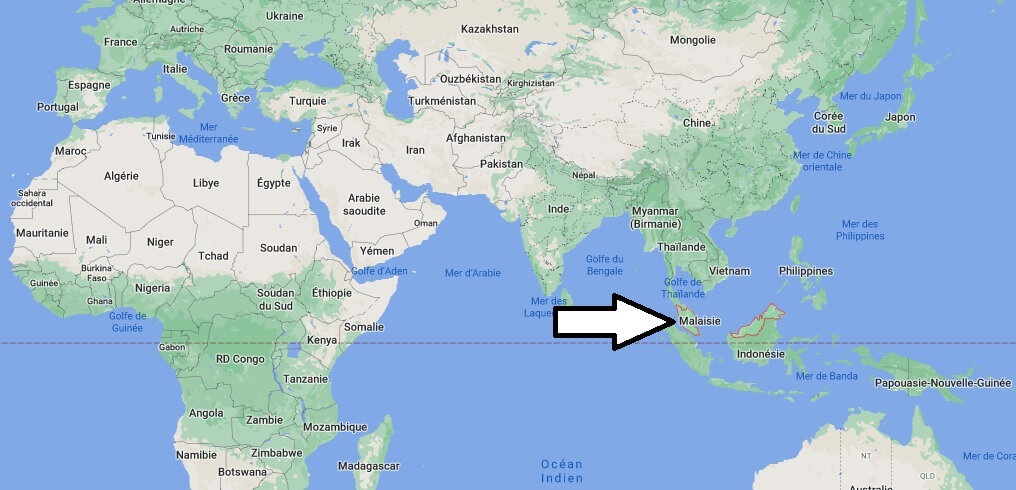 Où se trouve la Malaisie