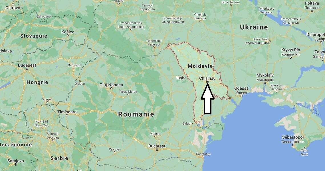 Où se trouve la Moldavie