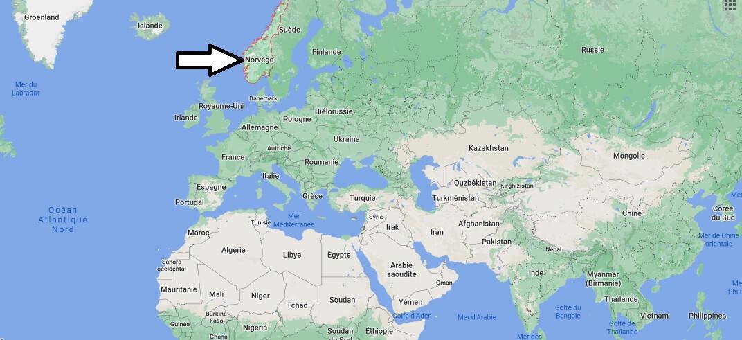 Où se trouve la Norvège