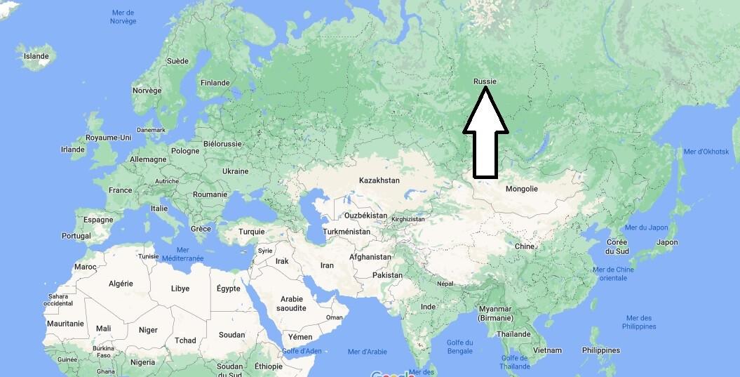 Où se trouve la Russie