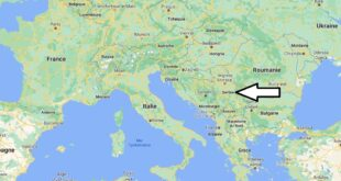 Où se trouve la Serbie