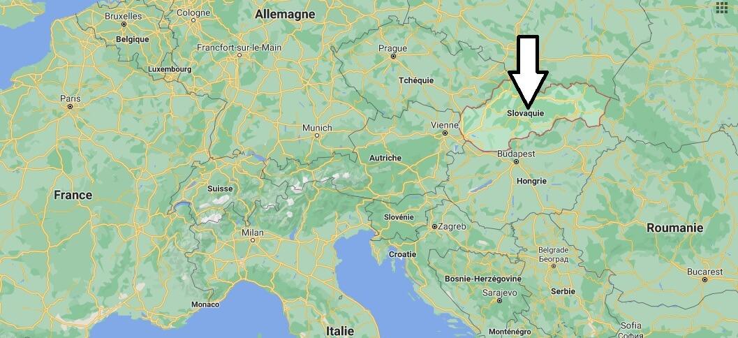 Où se trouve la Slovaquie