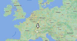 Où se trouve la Suisse