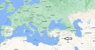 Où se trouve la Syrie