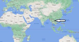 Où se trouve la Thaïlande