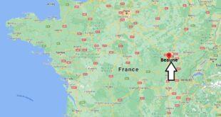 Où se trouve la ville Beaune
