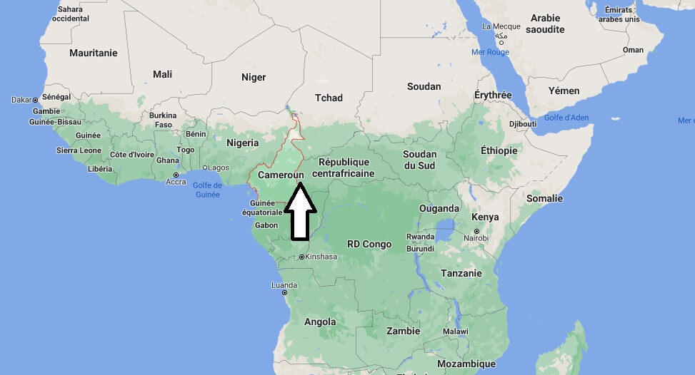 Où se trouve le Cameroun