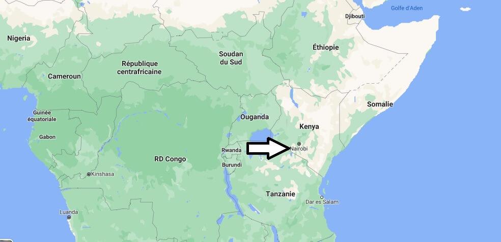 Où se trouve le Kenya