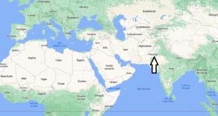 Où se trouve le Pakistan