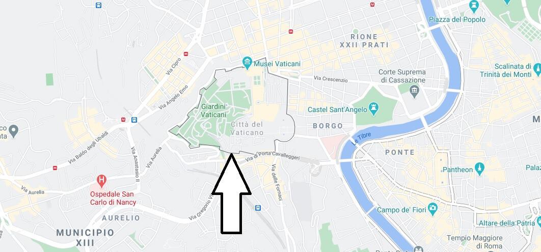 Où se trouve le Vatican en Italie