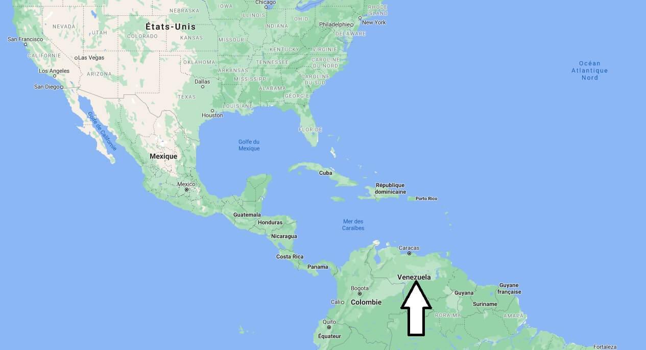Où se trouve le Venezuela