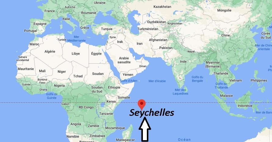 Où se trouve les Seychelles