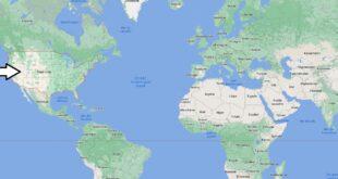 Où se trouvent les États-unis sur une carte