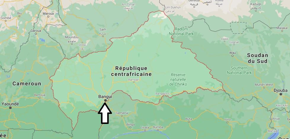 Quel est la capitale de Centrafrique
