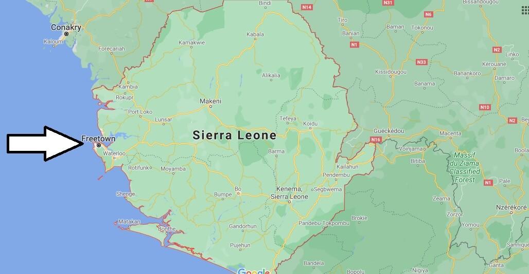 Quelle est la capitale de La Sierra Leone