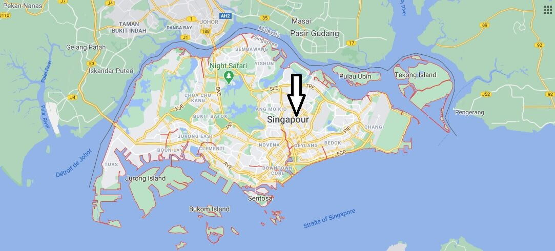 Quelle est la capitale de Singapour