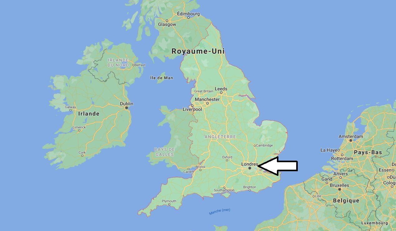 Quelle est la capitale de l-Angleterre